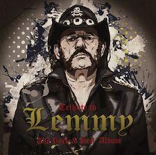 MOTÖRHEAD - TRIBUTE TO LEMMY/THE ROCK & ROLL ALBUM   CD NEW+