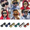 Enfants Garçons Filles Bébé Lunettes de Soleil Classique à Reflets Teinté UV400