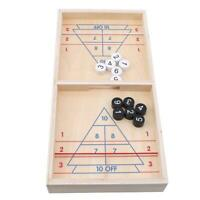Wooden Desktop Bowling Game Toys Ball Tabletop Board Game Christmas Gift LC