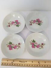 """Vintage Lot of 4 Small China Saucers/Trinket Dishes 3.75"""""""