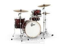 Gretsch Catalina Club 4 Pc Drum Set w/20 BD - Satin Antique Fade - CT1-J404-SAF
