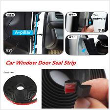 4M Z-Type Car Body Truck Van Door Rubber Seal Hollow Strip Weatherstrip Sealing