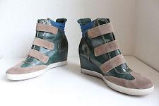 Tamaris Trendy Keilabsatz Stiefeletten Boots Echtleder Mehrfarbig Eu:41,5-42