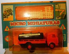 OLD MICRO EKO HO 1/86 1/87 CAMION PEGASO Z-207 CITERNE ESSO EXTRA MOTOR OIL BOX