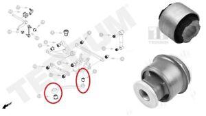 Rear Control Trailing Arm Wishbone Bushes Bushings for PEUGEOT 407 2004-2010