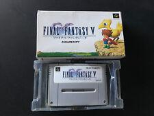 Final Fantasy V 5 SNES Super Nintendo Super Famicom jap