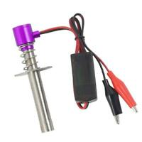 Alloy RC Starter Glow Igniter Tool Kits Fits HSP 94122 94188 1/10 RC Car DIY