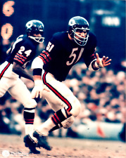 Dick Butkus Chicago Bears 8x10 Color Photo B Unsigned