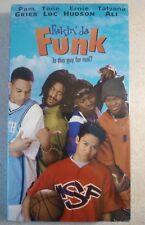 NEW SEALED Fakin Da Funk - VHS - Pam Grier Tone Loc Ernie Hudson Tatyana Ali OOP