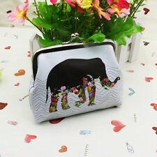 Fashion Womens Leather Wallet Elephant Coin Purse Bag Card Holder Clutch Handbag