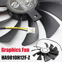 Für MSI RX560 GTX1050/1050ti AERO ITX 85mm 2 pin Cooler Fan Lüfter HA9010H12F-Z
