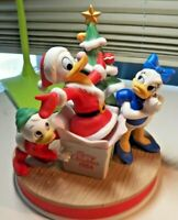 Beautiful 1984 Christmas Celebrating Donald Duck's 50th Birthday Figurine IOB