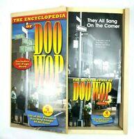 The Encyclopedia of Doo Wop: Volume 2 Box Set 4 CD 100 Songs Book Wood Box