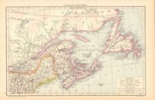 Newfoundland & Labrador Antique North American Maps & Atlases