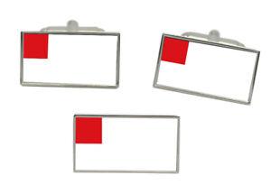 Bilbao (Spain) Flag Cufflink and Tie Pin Set