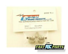 GPM Racing HPI Micro RS4 Metal Gray Aluminum Front Steering Knuckles MH2108