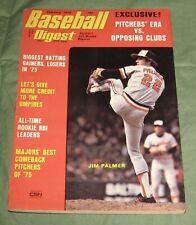 BASEBALL DIGEST -Feb. 1976 JIM PALMER Cover N.M. Vol.35 No.2