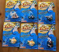 The Tick Wacky Windups Lot: Tick, Arthur, Human Bullet, Sewer Urchin, Dyna-Mole