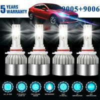 9006+9005 LED Headlight Kit 4200W 630000LM Hi-Lo Beam Combo Lamp Power 6000K HID
