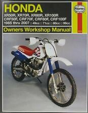 Haynes Honda XR80R/XR100R CRF80F/100F 85-04 Repair Manual 2218
