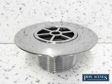 """Replacement Shower Drain Top Waste Trap Chrome Plated ABS 1.5"""" INCH Thread 85mm"""