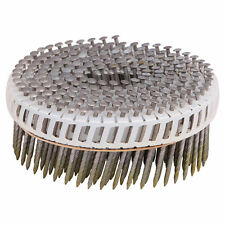 Airco Screw Shank Coil NAILS 52x2.5mm 1800pcs Hot Dip Galv. 15D Plastic Collated