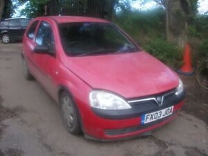 Vauxhall Corsa C Mk2 2003 1.7Di 1.7 Di Y17DTL 3dr Red BREAKING - Random fuse