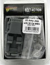 Bolt Action 403213001 US Army Jeep with 30 Cal MMG (WWII) Warlord Games Vehicle