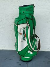 Rare Belding Sports Vintage Green Gatorade 6-way Golf Bag
