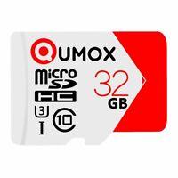 nouvelle QUMOX 32 Go Carte mémoire Micro SD Class 10 UHS-I Extreme