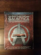 Battlestar Galactica: The Definitive Collection (Blu-ray, 18-Discs) NEW