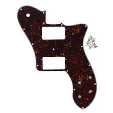 marron écaille De Tortue 4PLY guitare PICKGUARD 14holes pour 72 RI TELECASTER