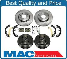 09-2011 2.0L Focus Front Rotors & Ceramic Pads & Rear Drums Bearings and Shoes