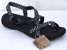 Skechers Reggae Haystack Ankle Strap Sandals  Color: Black--Multi Size: US/7