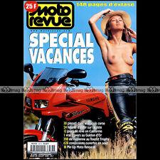 MOTO REVUE N°3387 SUZUKI GSXR 750 R 125 INTRUDER & SHADOW YAMAHA XV VIRAGO 1999