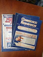 Libro antico garage pubblicità per commerce e riparazione di auto vecchia