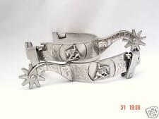 Reiner Spurs Brushed Stainless Steel
