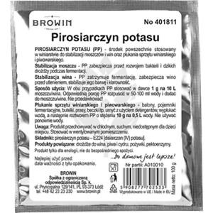 Kaliumdisulfit 100 g Schwefelpulver Kaliumpyrosulfit Weinherstellung