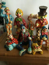 Paper Mache Clown Collection