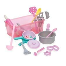 Kids Cookware Set Toy Pretend Play 21 Pc Baking Toddler Gift Boy Girl New