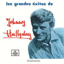 CD Los Grandes Exitos De Johnny Hallyday (Vogue Made In Colombie)