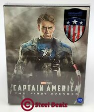 CAPTAIN AMERICA: THE FIRST AVENGER [2D + 3D] Blu-ray STEELBOOK [KIMCHIDVD] LENTI