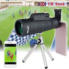 50x60 Zoom Optical HD Lens Monocular Telescope Tripod Clip for Mobile PHONES