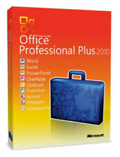 Microsoft Office Professional Plus 2010 Vollversion 1pc MS