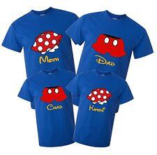 Disney Cruise Disney World Mickey And Minnie Custom T-shirt Family Vacation