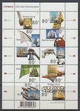 Niederlande 2000 ** Mi.1807/16 Klbg. Schifffahrt shipping Sail Amsterdam[st2529]