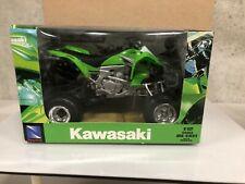 NEWRAY 1:12 DIECAST Scale Kawasaki KFX 450R 2009 ATV    3758