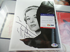 Tippi Hedren Signed PSA/DNA COA The Birds insc autograph auto Alfred Hitchcock