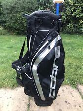 Cobra Golf Stand Bag / Black / Storm Cell Waterproof / 8-Way / Rainhood / VGC