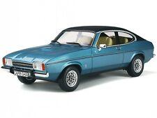 Ford Capri MK2 Miami blue poly Modellauto limitiert999 OT810 Otto 1:18